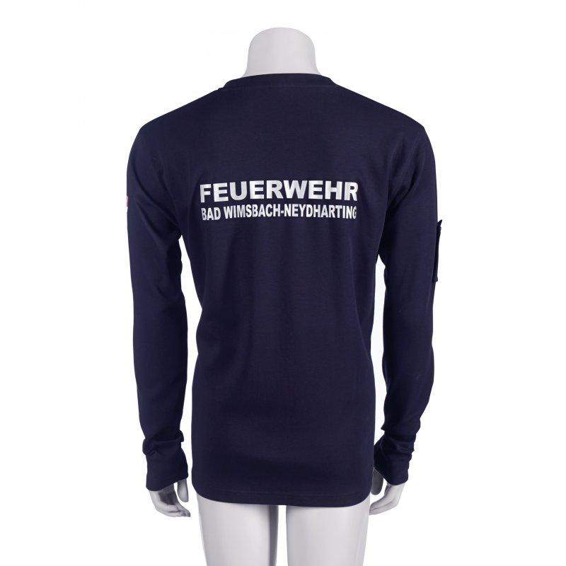 33b990d227de03 ... langarm Einsatz T-Shirt